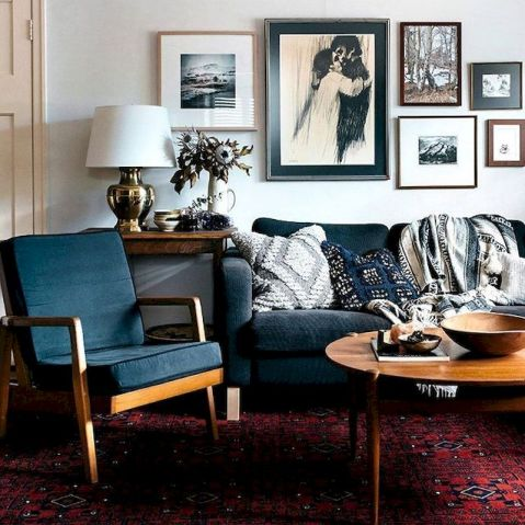 Awesome living room paint ideas by brown furniture 45