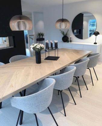 Best scandinavian chairs design ideas for dining room 12
