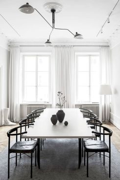 Best scandinavian chairs design ideas for dining room 25