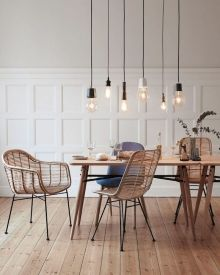 Best scandinavian chairs design ideas for dining room 42