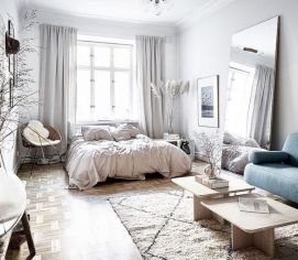 Cool diy beautiful apartments design ideas 22