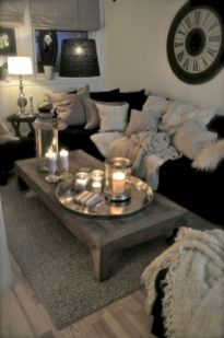 Cool diy beautiful apartments design ideas 24