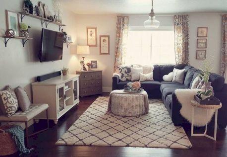 Cool diy beautiful apartments design ideas 33