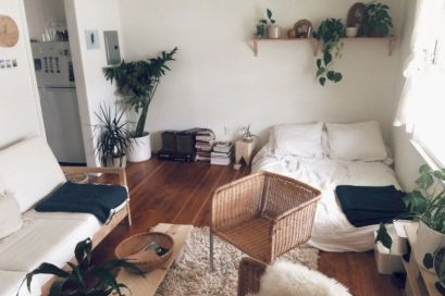 Cool diy beautiful apartments design ideas 44