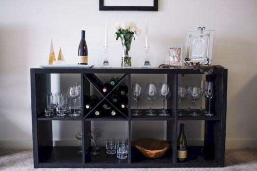 Elegant wine rack design ideas using wood 01