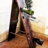 Elegant wine rack design ideas using wood 03