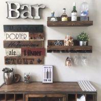 Elegant wine rack design ideas using wood 08
