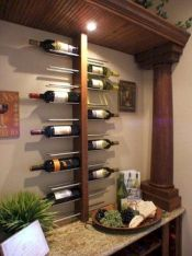 Elegant wine rack design ideas using wood 21