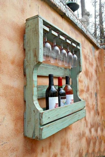 Elegant wine rack design ideas using wood 33