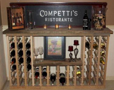 Elegant wine rack design ideas using wood 36