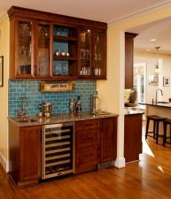 Elegant wine rack design ideas using wood 37