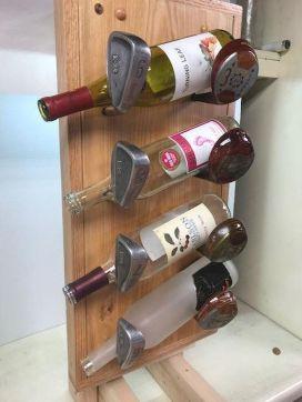 Elegant wine rack design ideas using wood 39