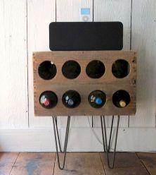Elegant wine rack design ideas using wood 45