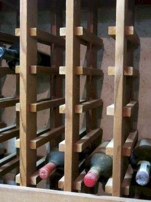 Elegant wine rack design ideas using wood 53