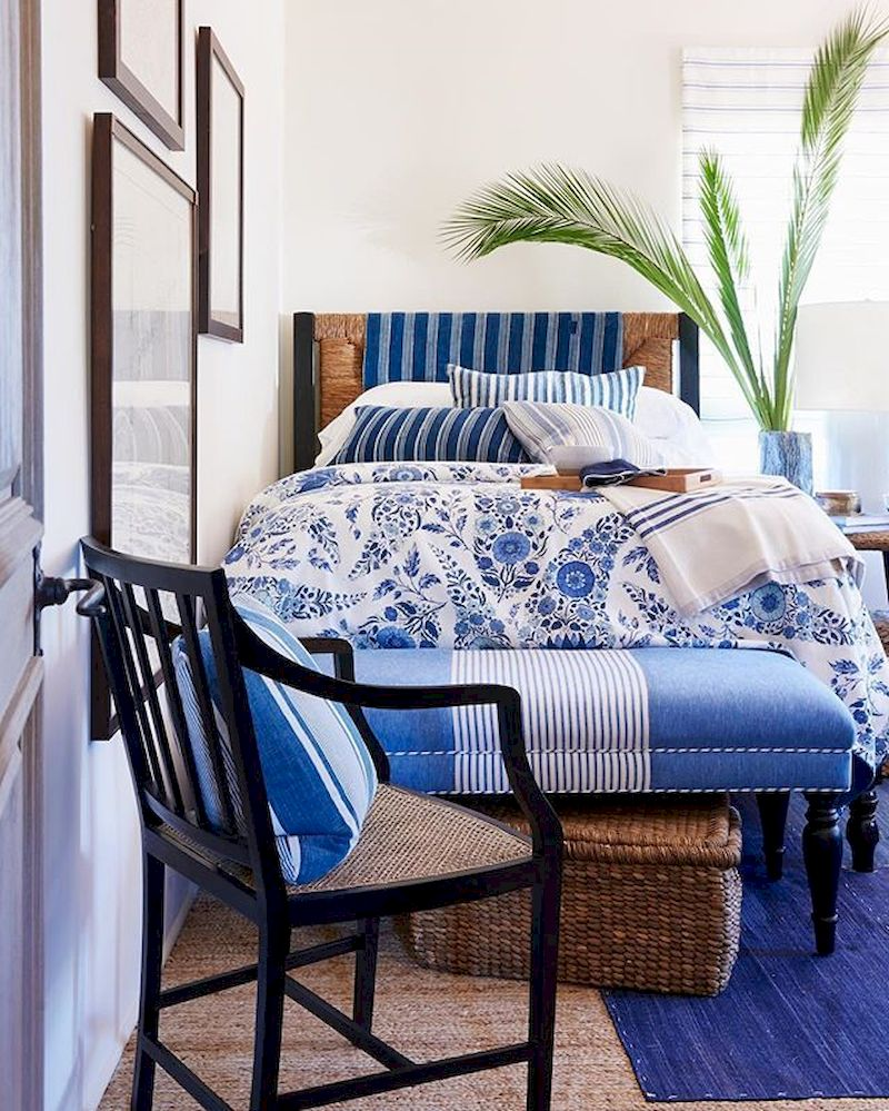 Gorgeous coastal bedroom design ideas to copy right now 32