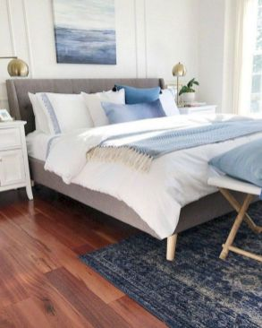 Gorgeous coastal bedroom design ideas to copy right now 33