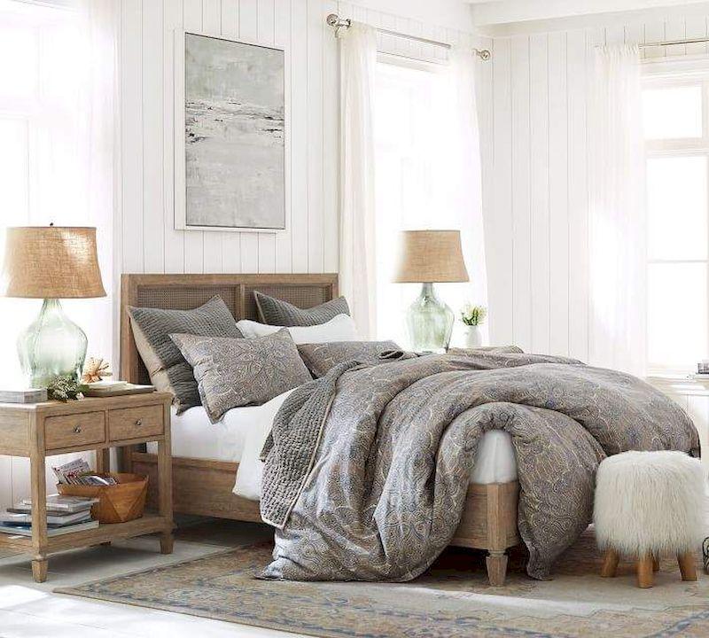 Gorgeous coastal bedroom design ideas to copy right now 41
