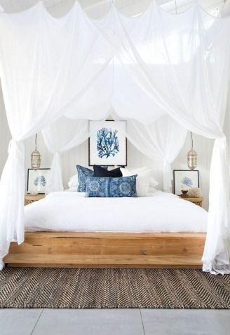 Gorgeous coastal bedroom design ideas to copy right now 45