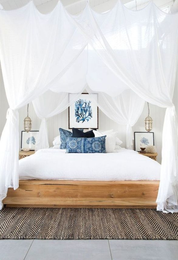 Gorgeous coastal bedroom design ideas to copy right now 45