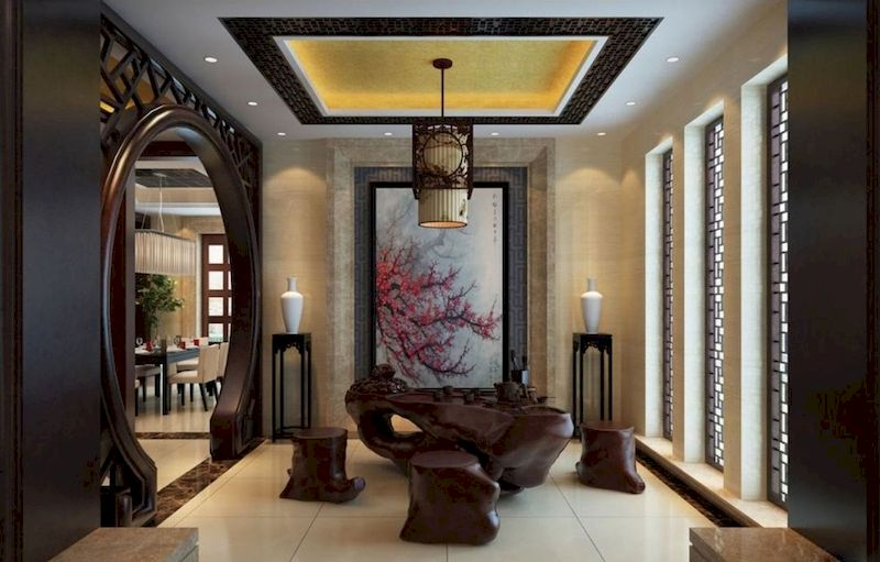 Impressive chinese living room decor ideas 02