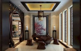 Impressive chinese living room decor ideas 02