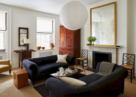 45 Impressive Chinese Living Room Decor Ideas - Round Decor