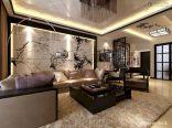 Impressive chinese living room decor ideas 15