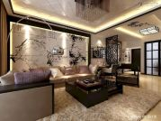 Impressive chinese living room decor ideas 15
