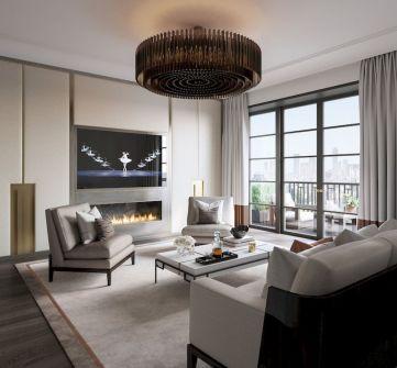 Impressive chinese living room decor ideas 20