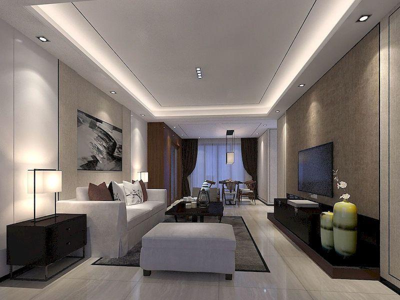 Impressive chinese living room decor ideas 21