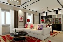 Impressive chinese living room decor ideas 25