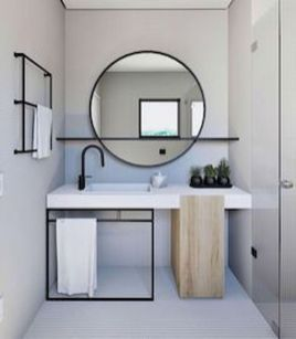 Inspiring bathroom mirror design ideas 29