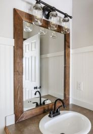 Inspiring bathroom mirror design ideas 32