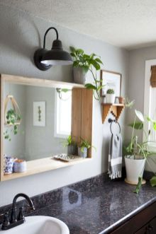 Inspiring bathroom mirror design ideas 35
