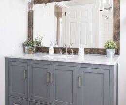 Inspiring bathroom mirror design ideas 40