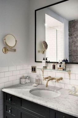 Inspiring bathroom mirror design ideas 44