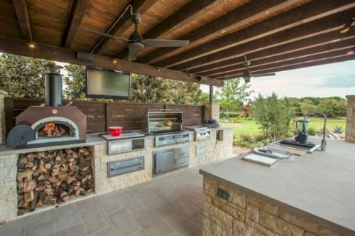 Modern outdoor kitchen designs ideas 04