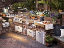 Modern outdoor kitchen designs ideas 17