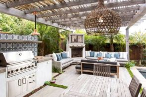 Modern outdoor kitchen designs ideas 19