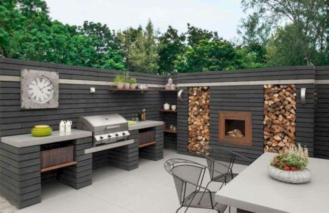 Modern outdoor kitchen designs ideas 20