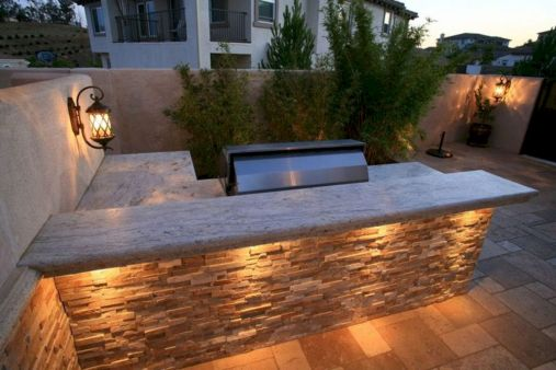 Modern outdoor kitchen designs ideas 23