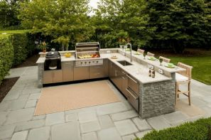 Modern outdoor kitchen designs ideas 35