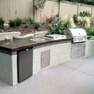 Modern outdoor kitchen designs ideas 42