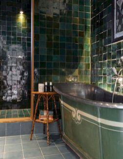 Newest gothic bathroom design ideas 13