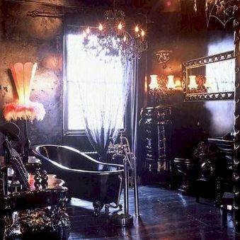 Newest gothic bathroom design ideas 27