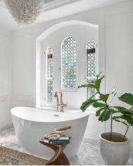 Newest gothic bathroom design ideas 33