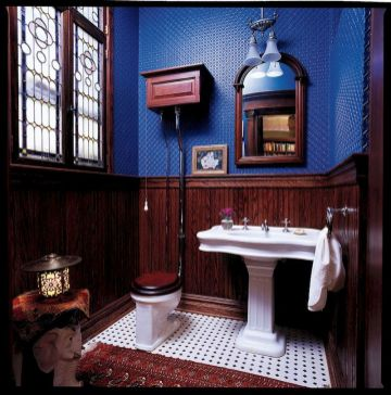 Newest gothic bathroom design ideas 34