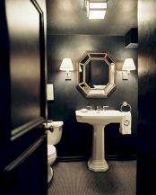Newest gothic bathroom design ideas 36
