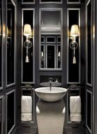 Newest gothic bathroom design ideas 40