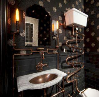 Newest gothic bathroom design ideas 45